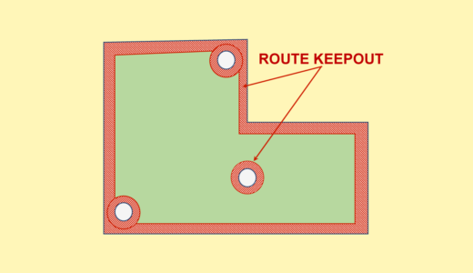 Generating Keep Out Areas for Board Outline / Mounting Holes
