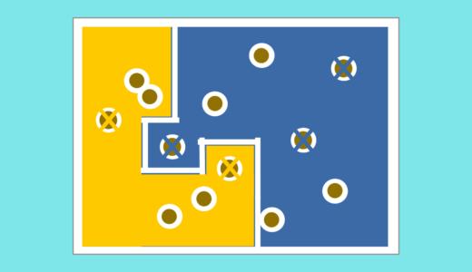 型抜き機能で内層、表層のベタを簡単に分割する方法