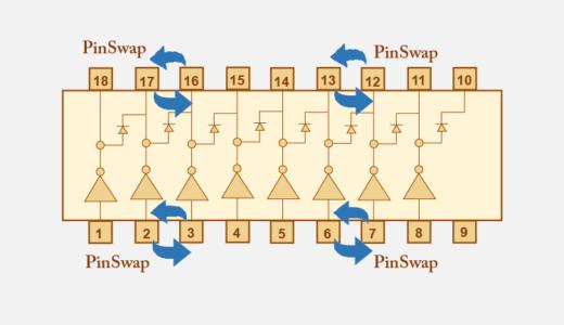 回路部品のピンスワップ/グループスワップの設定方法
