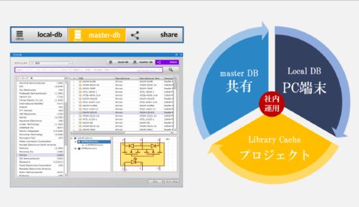 読み取り専用にできる部品管理「master-db」機能